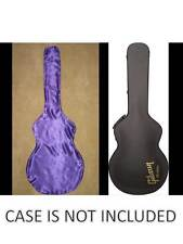 GUITAR LINGERIE~PURPLE SATIN GUITAR SHROUD*FOR A GIBSON ES-175/137 CASE