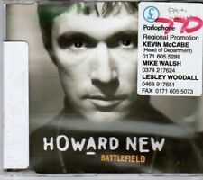 (BU850) Howard New, Battlefield - 1996 DJ CD