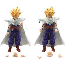 GOHAN - 2 PERSONAGGI - 14Cm. - Dragon Ball Z Super Sayan Modellino Statuina