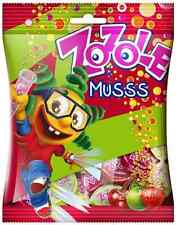 ZOZOLE Musss Apple Strawberry Cherry Flavor Candies with Fizzy Filling 75g 2.7oz