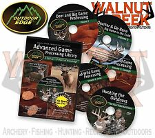 Outdoor Edge Advanced Wild Game Processing 5-DVD Library #AP-101