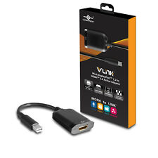 Vantec VLink Mini DisplayPort™ 1.2 to HDMI™ 2.0 UHD 4K@60Hz Active Adapter