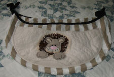 lion toy holder by global baby for crib or playpen pre owned excellent