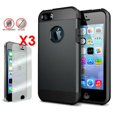 Slim Hybrid Shockproof Armour Phone Case Dual Cover For iPhone 5s iPhone 5 CA