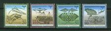 ALEMANIA/RDA EAST GERMANY 1990 MNH SC.2800/03 Lilienthal airmail exhib.