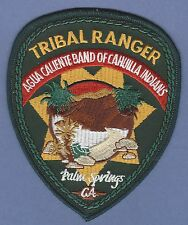 AGUA CALIENTE BAND OF CAHUILLA INDIANS CALIFORNIA TRIBAL RANGER POLICE PATCH