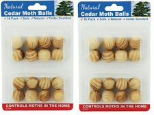 2 x 16pk Natural Cedar Moth Balls Repellent Wardrobe Drawers Mothballs Protect