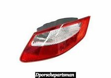 Porsche Boxster / Cayman Right Tail Light Lens (Clear/Red)   GENUINE    NEW # NS