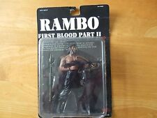"RAMBO FIRST BLOOD PART 2 (II) 7"" FIGURE IN BOX SYLVESTER STALLONE NEW"