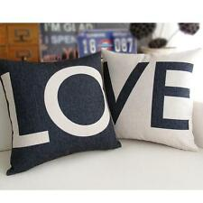 Fashion Black and white LOVE couples Pillowcase Cushion Case Nice Comfortable