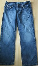 """MENS GEORGE STRAIGHT DISTRESSED LOOK JEANS size W34 L29"""""""