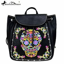Montana West Sugar Skull Collection Backpack