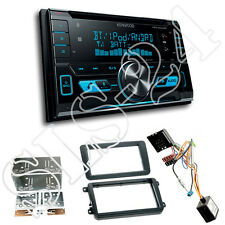 Skoda Fabia Rapid 2-DIN Blende+CAN-Bus Adapter+Kenwood DPX5000BT Bluetooth Radio