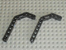 LEGO TECHNIC black beam liftarm bent ref 32009 / sets 8448 8297 8458 8446 8462