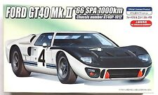 FUJIMI HR-24 1/24 Ford GT40 Mk.II '66 SPA 1000km w/ photo-etched parts model kit