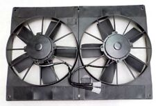 "11"" Dual Extreme Electric High Performance Radiator Cooling Fan Twin HD Puller"