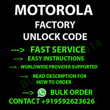 PERMANENT UNLOCK CODE FOR  Motorola Atrix HD 4G LTE