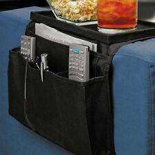 Sofa Couch Remote Control Holder Arm Rest Storage Organizer Tray Bags 6 Pocket