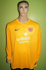 Nike Mainz 05 Torwart Trikot Jersey Maillot Gr XXL 2XL orange