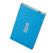 Bipra 120GB 2.5 inch USB 3.0 FAT32 Portable Slim External Hard Drive - Blue