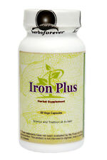 Iron Plus (Iron Complex) (For Healthy RBC) 60 Vege Capsules, 875 Mg Each
