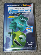 NEW & SEALED Walt Disney's Pixar Original Monsters, Inc. VHS Clamshell