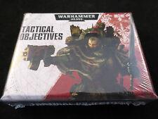 Warhammer 40k objetivos tácticos Tarjetas Pack (sellado)