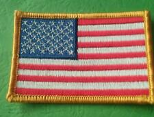 AMERICAN FLAG PATCH  STARS LEFT SIDE