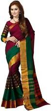 Wama Fashion Self Design Saree For Women With Blouse Piece (TZ_VV)