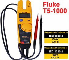 Fluke T5-1000 Continuity Current Electrical Tester 1000V w/ Fluke Case