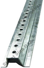 8FT GALVANIZED U CHANNEL SIGN POST HEAVY DUTY FOR STREET PARKING TRAFFIC SIGNS