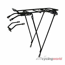 VENTURA REAR BIKE CARRIER WITH SPRING FLAP - Pannier Rack Bicycle Bag Commute