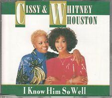 Whitney Houston CD-SINGLE I KNOW HIM SO WELL (c) 1987/88