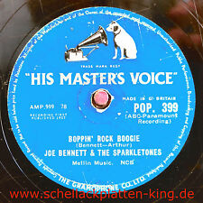 Joe Bennett & The Sparkletones / Boppin` Rock Boogie & Black Slacks (43-1013)