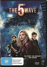 THE 5TH WAVE DVD NEW SEALED R4 2016 THE FIFTH WAVE