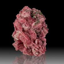 "1.7"" Deep Rosy Pink RHODONITE Sharp Crystals Huanzala Peru 2009 Find for sale"