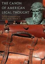 The Canon of American Legal Thought (2006, Paperback)