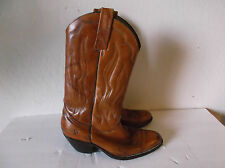 MENS  FRYE MADE IN USA LEATHER WESTERN COWBOY BOOTS SZ  9 1/2 D
