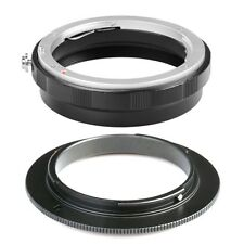 NEW AI-52mm Macro Reverse Adapter Rear Lens Protection Ring For Nikon F AI AF