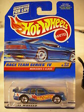 Hot Wheels Mercedes C-Class Race Team Series IV Blue