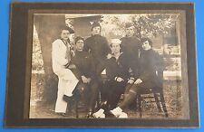 *Original* 6 WOMEN IN MILITARY UNIFORMS Photograph WORLD WAR II ERA Wacs Waves