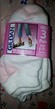 New girls white no show socks 3 packs 18 small 2 yr old