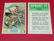 N°100 THEVENET PEUGEOT FRANCE PANINI SPRINT 71 CYCLISME 1971 WIELRIJDER CICLISMO