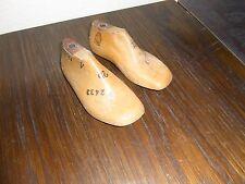 alte Kinder Schusterleisten / Schuhleisten 1 Paar Größe 25 ca.16,5cm Behrens