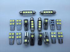 IT 18x LED SMD Luce Bianco Interno Posteriore illuminazione Audi Q5 8R S-Line