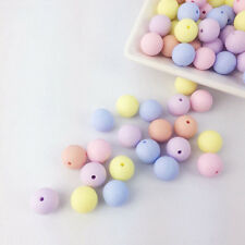 Silicone Beads Wholesale 100 pc Bulk Mix Ball Lot 12mm Round Color Ball Teething