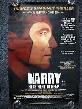 HARRY He's Here to Help Original 2000s Horror OS Movie Poster Mathilde Seigner