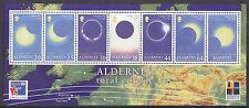 Alderney 1999 Total Eclipse of The Sun MS UM SGMSA1131 Cat £6.50