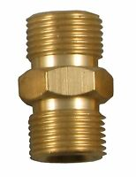 """3/8"""" TO 3/8"""" BSP MALE RIGHT HAND THREADED COUPLER REDUCER 1310 x 2"""