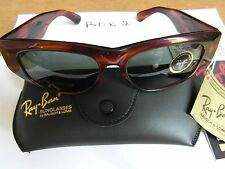54mm VINTAGE B&L RAY BAN W0586 THICK MOCK TORTOISE G15 UV DEKKO SUNGLASSES NEW